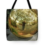Reflection Of An Obsession Tote Bag