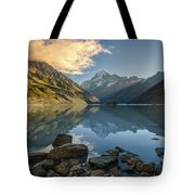 Reflection Of Aoraki Tote Bag