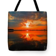 Reflection Of Beauty Tote Bag