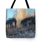 Reflection Of Dogs Tote Bag