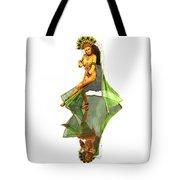 Reflection Of Golden Kali Dancer Tote Bag