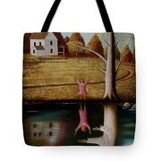 Reflection Of Protection. Tote Bag