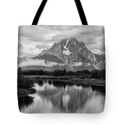 Reflection Of Signal Mountain Tote Bag