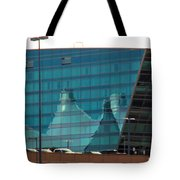 Reflection Of The Mountains Tote Bag