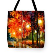 Reflection Of The Night  Tote Bag