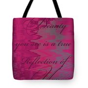 Reflection Of You Tote Bag