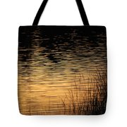 Reflection On A Sunset Tote Bag