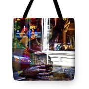 Reflection On Jazz Tote Bag