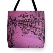 Reflection On Rose Tote Bag