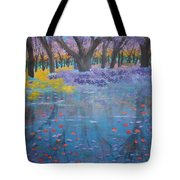 Reflection Pond Japan Tote Bag