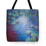 Reflection Pond With Liles Tote Bag
