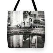 Reflection Puddle Tote Bag