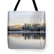 Reflections Across The Water Tote Bag