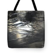 Reflections And Dark Ice #2  Tote Bag