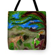 Reflections And Prayer Of St. Francis Tote Bag