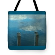 Reflections At Granite Pier Tote Bag