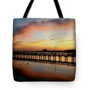 Reflections At Sunrise  Tote Bag