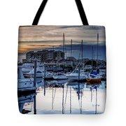 Reflections At Sunset Tote Bag