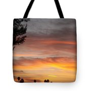 Reflections At The Close Of Day Tote Bag