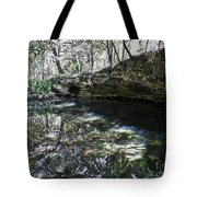 Reflections At The Grotto Tote Bag