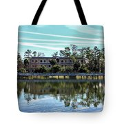 Reflections At The Lake Tote Bag
