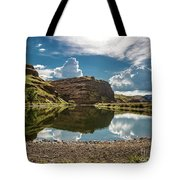 Reflections At The Pond Tote Bag