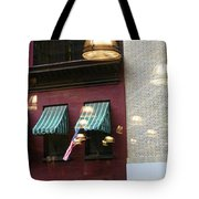 Reflections Building Nyc  Tote Bag