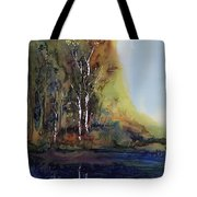 Reflections Tote Bag by Carolyn Doe