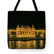 Reflections From Budapest University Tote Bag
