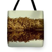 Reflections From Cockle Creek  Tote Bag