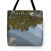 Reflections In A Lake - Poster Edges Tote Bag