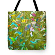 Reflections In A Window Tote Bag