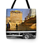 Reflections In Budapest Tote Bag