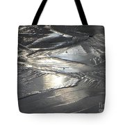 Reflections In Dark Ice 3 Tote Bag