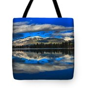 Reflections In Lac Beauvert Tote Bag