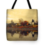 Reflections In Nakusp Tote Bag