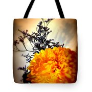 Reflections In Orange Tote Bag