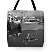 Reflections In The Harbour Tote Bag