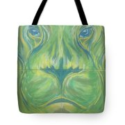Reflections In The Lions Eyes Tote Bag