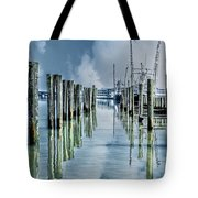 Reflections In The Marina Tote Bag