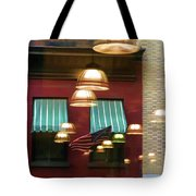 Reflections Light Buildings  Tote Bag