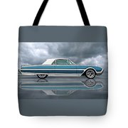 Reflections Of A 1961 Thunderbird Tote Bag