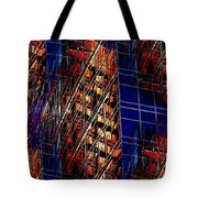 Reflections Of A City 3 Tote Bag