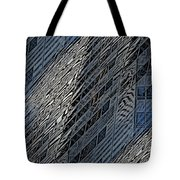 Reflections Of A City 4 Tote Bag