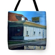 Reflections Of A Diner Tote Bag