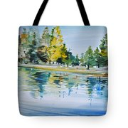 Reflections Of A Stroll Tote Bag