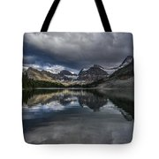 Reflections Of Assiniboine Tote Bag