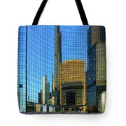 Reflections Of Chicago Tote Bag