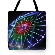 Reflections Of Ferris Tote Bag