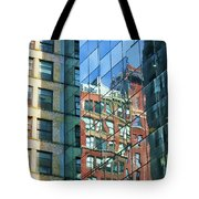 Reflections Of Manhattan Tote Bag